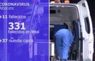 Albacete decreta luto oficial: 331 fallecidos en la provincia