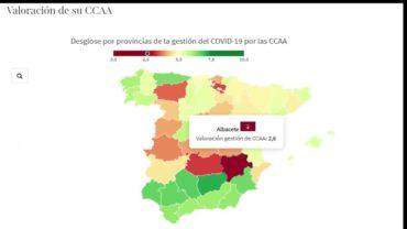 Albacete y C-LM suspenden a la Junta por su gestión del Covid-19