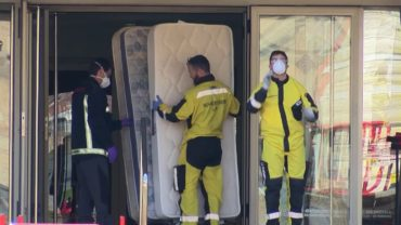 El hospital de campaña podría estar listo esta semana en Albacete