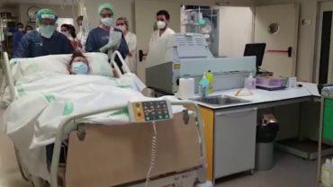 Los primeros pacientes con COVID-19 salen de la UCI en Villarrobledo