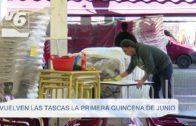 Vuelven 'Las Tascas' para la primera quincena de junio