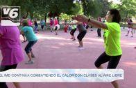 El IMD continúa combatiendo el calor con clases al aire libre