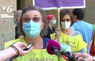 Los pensionistas de Albacete reivindican trato digno en las residencias de mayores