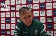 Lucas Alcaraz: «Todavía no es una final, los goles acabarán llegando»