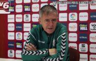 Lucas Alcaraz: «Ya le he dicho a Zozulia que no le van a pitar ni una en lo que queda de temporada»