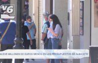 Nueve millones de euros menos en los presupuestos de Albacete