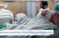Un albaceteño sale de la UCI tras 90 días por coronavirus