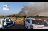 Estabilizado el incendio de la pedanía de Agramón