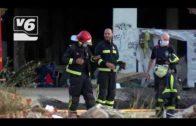 Incendio en el asentamiento de los temporeros durante el fin de semana