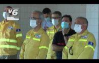 CCOO protesta por los recortes en la campaña de extinción de incendios