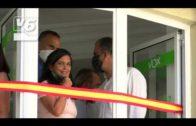 Ortega Smith y Lomana inauguran la nueva sede de Vox en Albacete