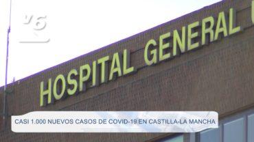 Casi 1.000 nuevos contagios de Covid-19 en C-LM