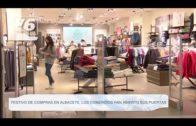 Festivo de compras en Albacete, los comercios han abierto sus puertas