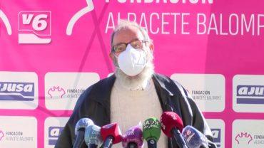 Valeriano Belmonte homenajea al Albacete Balompié en su 80 aniversario