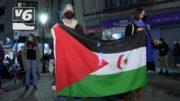 Concentración en Albacete para apoyar al pueblo saharaui