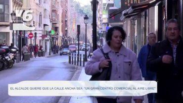 El alcalde quiere que la Calle Ancha sea «un gran centro comercial al aire libre»