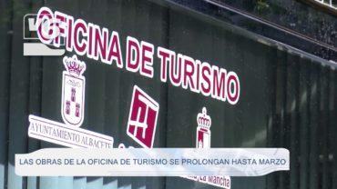 Las obras de la Oficina de Turismo se prolongan hasta marzo