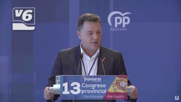Manuel Serrano, nuevo presidente del Partido Popular en Albacete