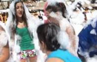 Al Fresco! fiesta de la espuma 8 de agosto 2013