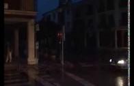 Almansa anegada por las lluvias