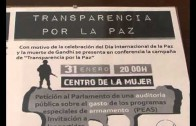 Campaña transparencia por la paz