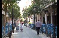 Continúan las obras de la calle Gaona