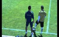 Curto , duda contra el Oviedo