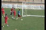El Alba prepara con intensidad el partido contra el Cádiz