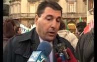 Empleados de bankia protestan contra el ERE