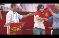 Homenaje Adrés Iniesta en Albacete. Pagina de Actualidad