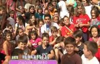 La Coctelera 2012. Visita de los bomberos al colegioi Cristobal Valera.
