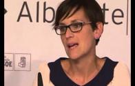 María Chivite imparte una charla sobre sanidad