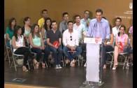 Multitudinario acto de Pedro Sánchez con militantes del PSOE en Albacete