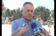 Rafael Gordillo apadrina la escuela deportiva del Colegio San Pablo