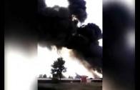 Fatal accidente en la Base Aérea de Los Llanos