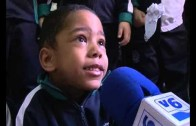 Los escolares celebran el Día de la no violencia y la paz