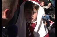 Los niños protagonizan la procesión del Lunes Santo