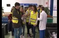 La factoría Ajusa recibe en sus instalaciones a los chavales del colegio Diocesano