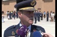 120 civiles juran bandera en la Base Aérea de Albacete