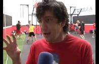 Jero García imparte una clase en Albacete