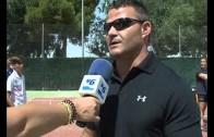 El atleta paralímpico, David Casinos, ha estado en el Club Tenis