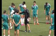 El Alba prepara su próximo encuentro contra Mirandés