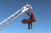 Los bomberos se forman en rescates urbanos