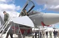 """Primeras maniobras del """"Trident Jucture"""" de la OTAN"""