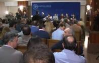 Cospedal difunde el discurso del miedo en Albacete