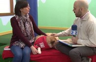 "A Pie de Calle reportaje ""Arya, la primera perra psicóloga de Albacete"""