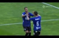 El árbitro y el Girona hunden más al Alba en el pozo