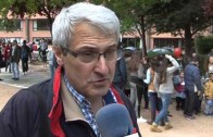 Marcha del Colegio Diocesano de Albacete por la Paz