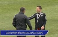 César Ferrando no seguirá en el Albacete Balompié