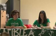La Marea Verde debate sobre el futuro de la ley educativa